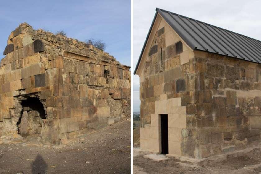 ქვემო არქევანში მდებარე დარბაზული ეკლესია, რომლის რეაბილიტაციაც 2020 წელს დასრულდა