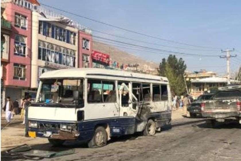ავღანეთი ავტობუსი