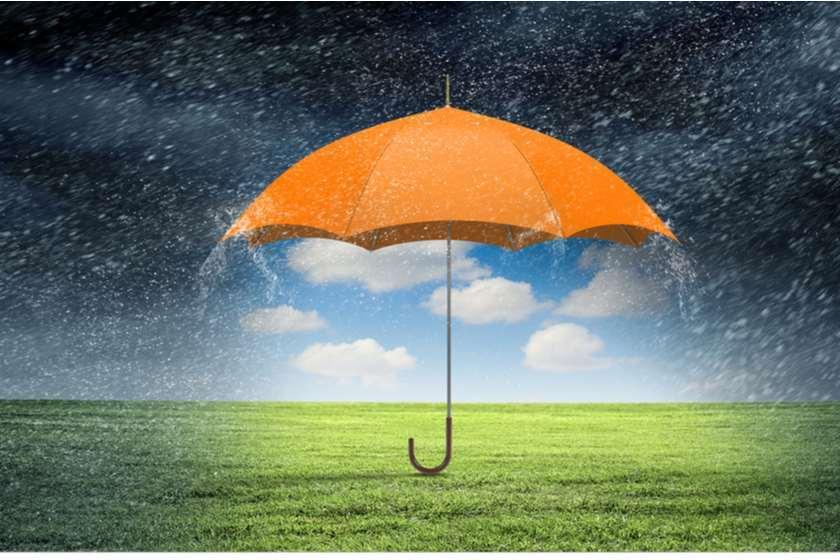ქოლგა ამინდი წვიმა