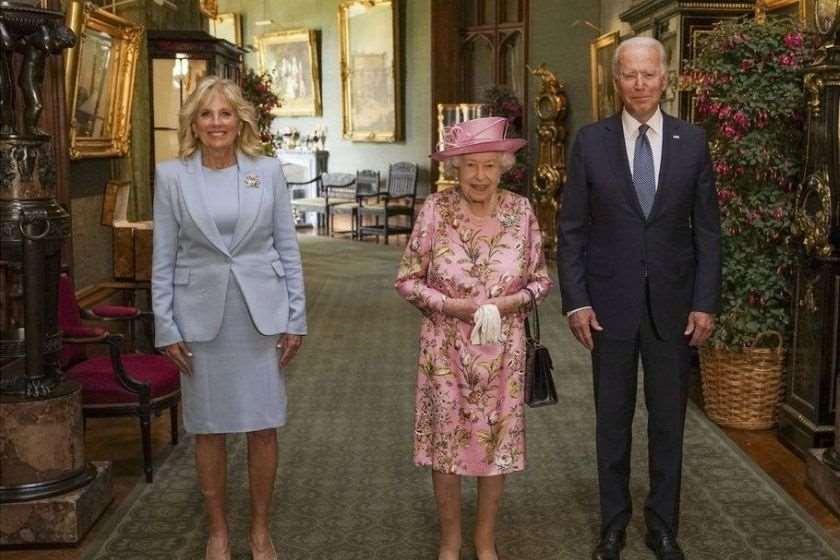 ჯილ ბაიდენი, დედოფალი ელისაბედი, ჯო ბაიდენი