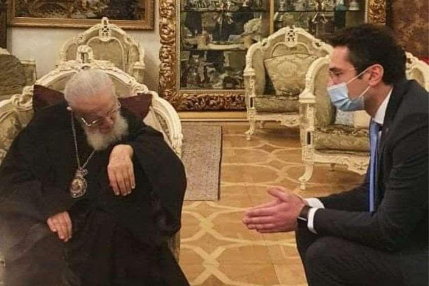 კათოლიკოს-პატრიარქი, ილია მეორე; კახა კუჭავა