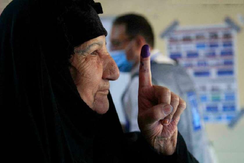 ამომრჩეველი საარჩევნო უბანზე
