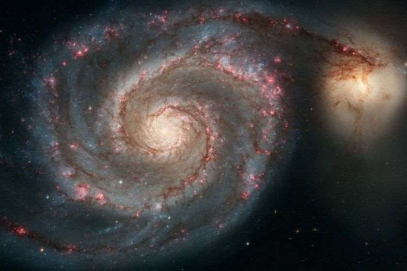 გალაქტიკა М51
